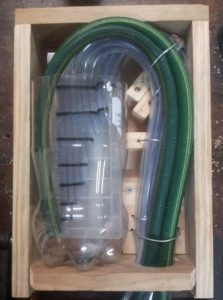 Secure the whole bundle of pipes with a final piece of wire or zip tie.