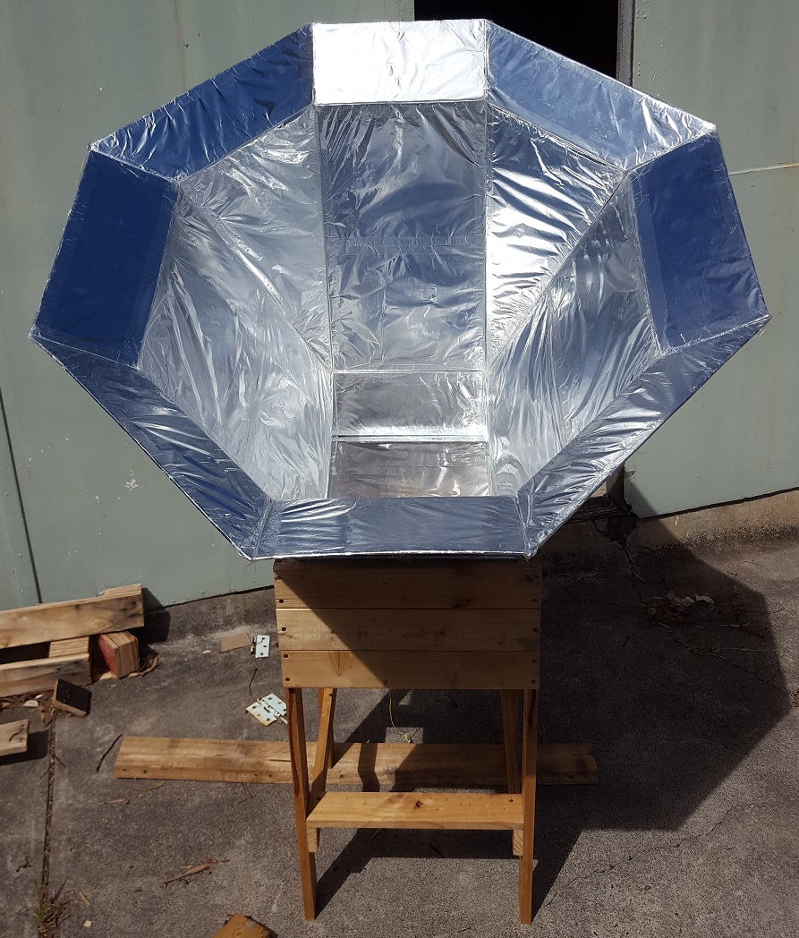 Solar oven practical sustainability