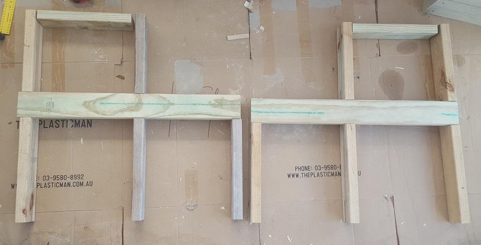two level planter box step 7