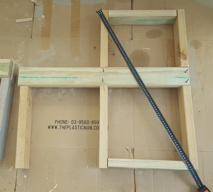 two level planter box step 8