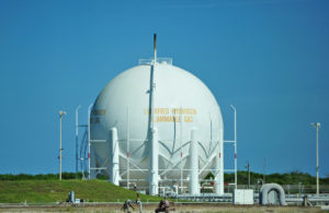 Hydrogen storage at Cape Canaveral