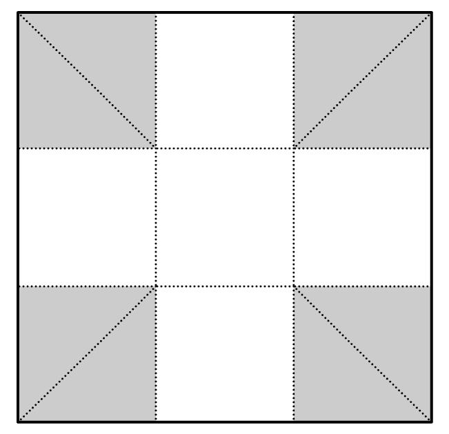 plastic planter box lining fold example